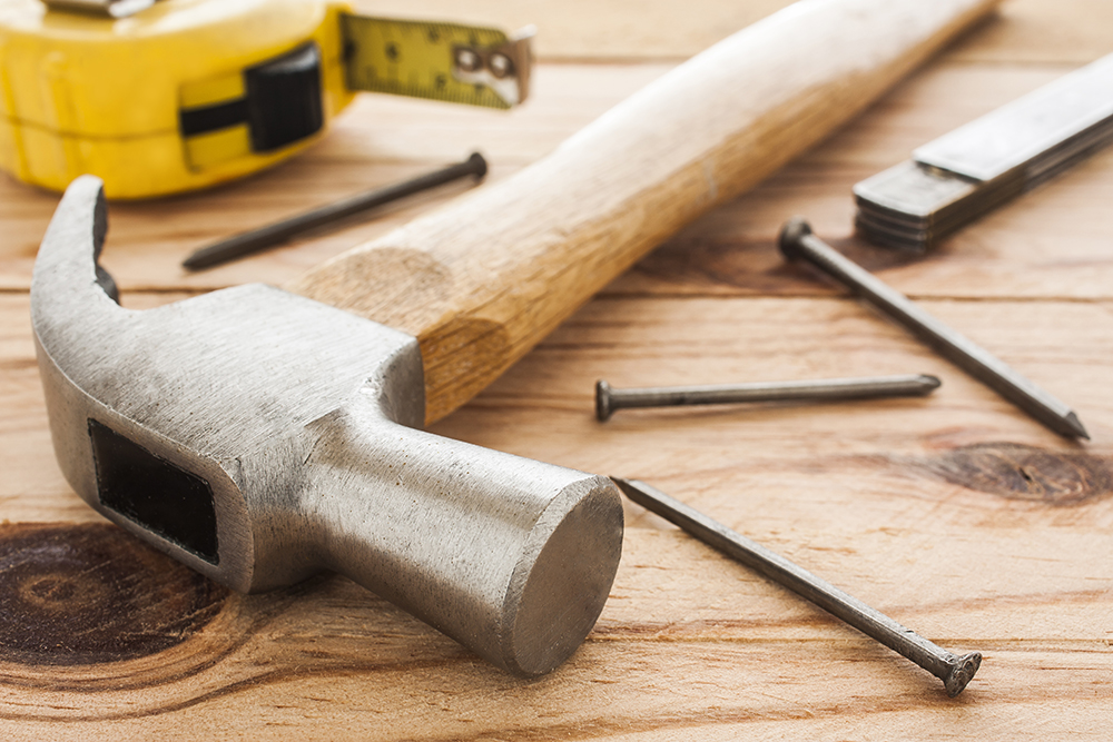 Home maintenance tools used after the need for repairs were found while preforming home inspection services